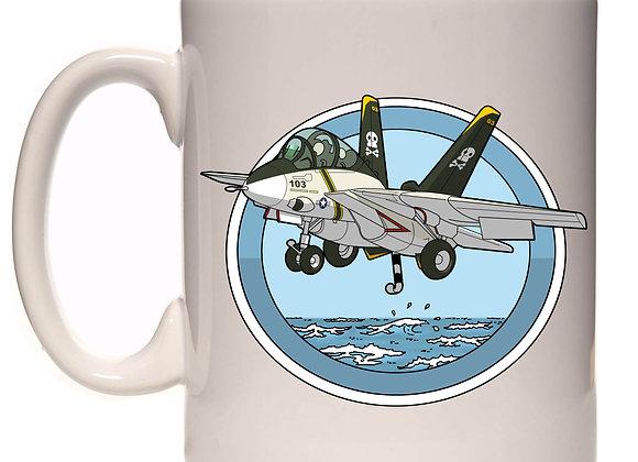 Grumman F-14 à l'appontage RC2