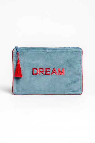 Clutch Velvet Bag Dream