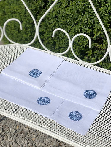 Delft Napkins set of 4