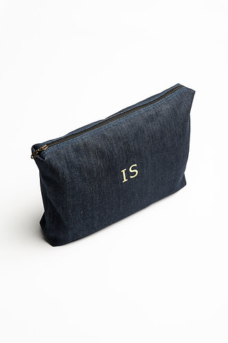 Canvas Pouch - Embroidery