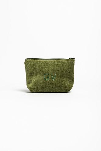Cosmetic Bag Velvet - Embroidery