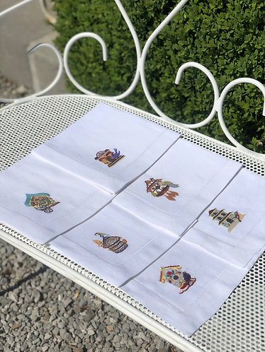 Coucou Napkins set of 6