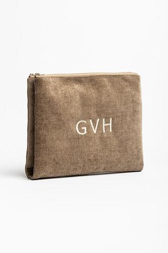 Travel Bag Twin Velvet - Embroidery