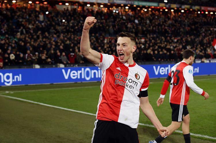 Slovenský fotbalový útočník a reprezentant, Feyenoord