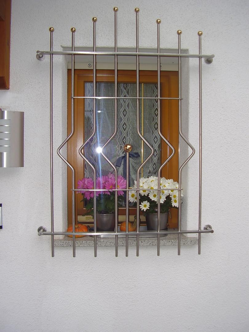 Fenstergitter Inox