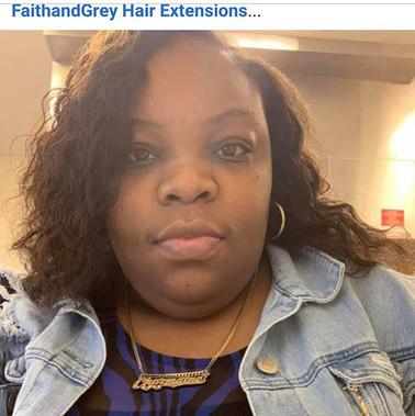 Shop Faith and Grey Hair Extensions  Fai