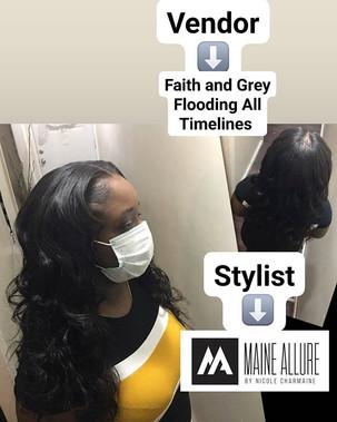 Faith and Grey flooding all timelines...
