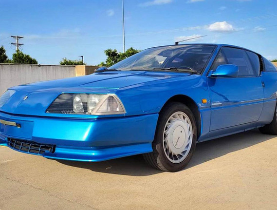 1992 Renault Alpine GTA V6 Turbo