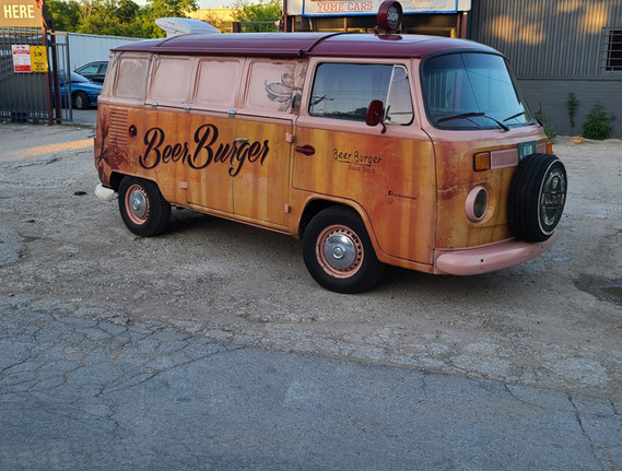 1991 Volkswagen Food Truck