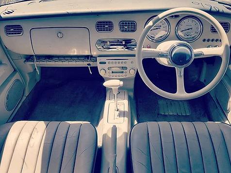 Nissan Figaro Interior__#nissan#figaro#c