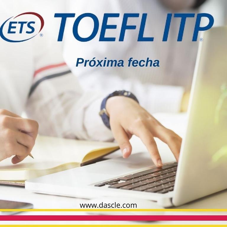 TOEFL ITP- 30 de julio