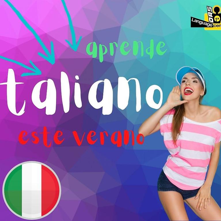 VERANO INTENSIVO ITALIANO