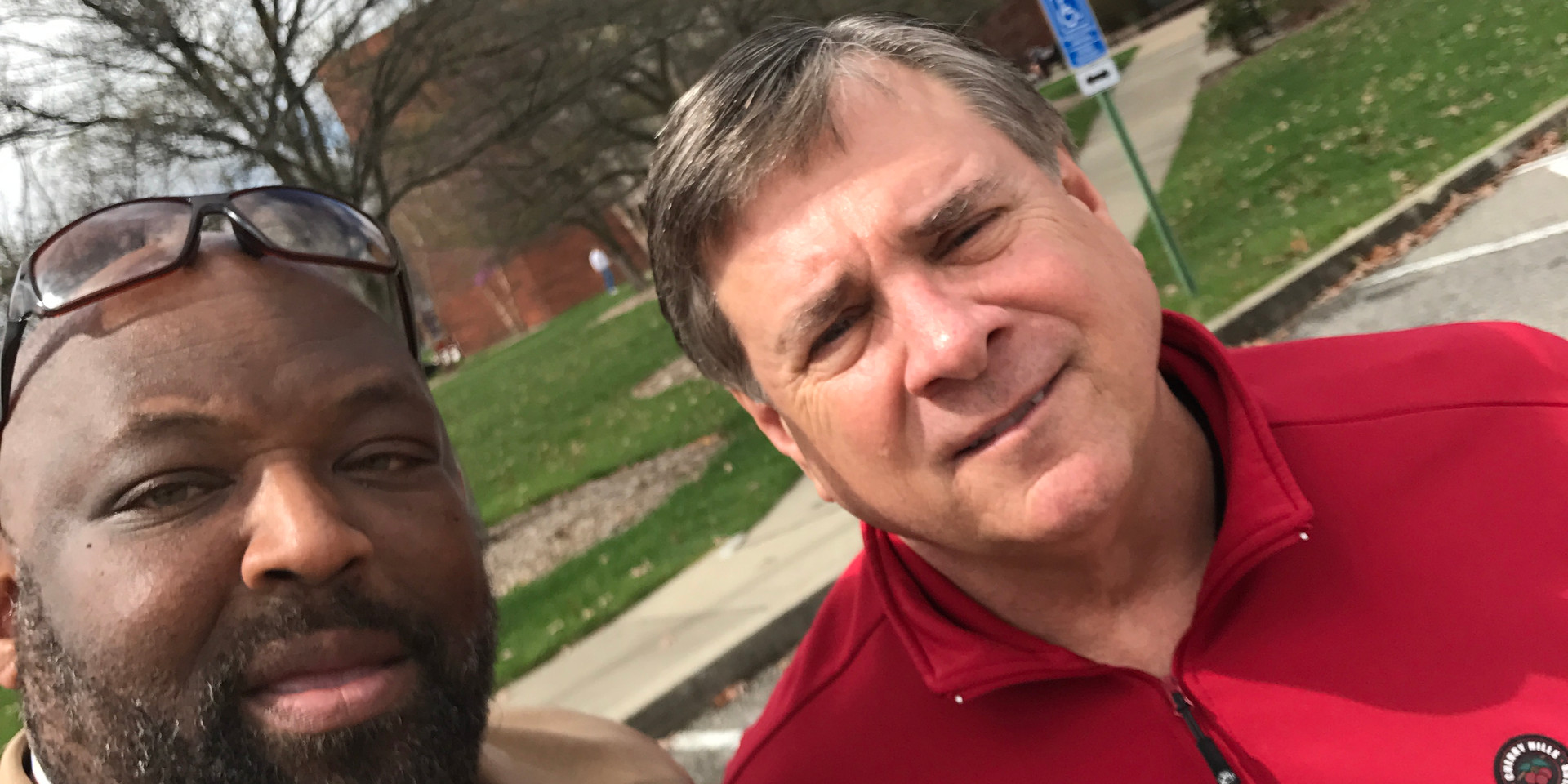 J. Linton and UL AD Tom Jurich