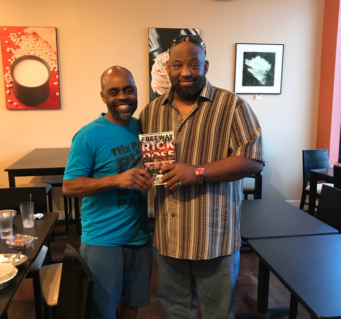 J. Linton with Ricky Ross