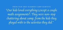 2021 camp survey mayernick