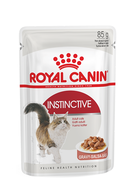 Royal Canin Feline Instinctive in Gravy Pouch