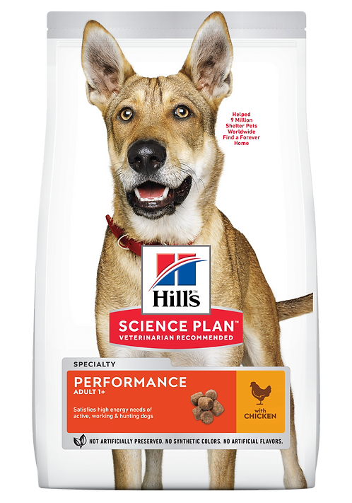 Hill's Science Plan Canine Dry Food Performance Chicken