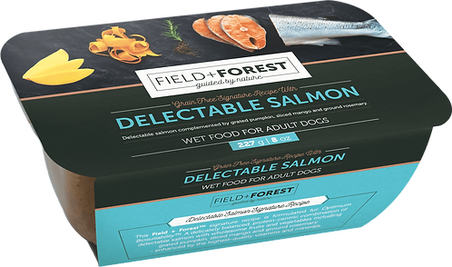 Field & Forest Adult Salmon Wet Food Tub