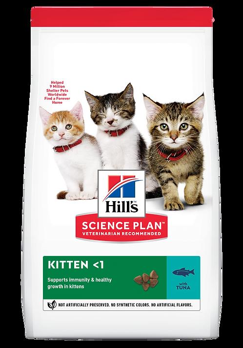 Hill's Science Plan Feline Dry Food Kitten  Tuna