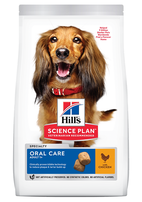 Hill's Science Plan Canine Dry Food Oral Care Chicken