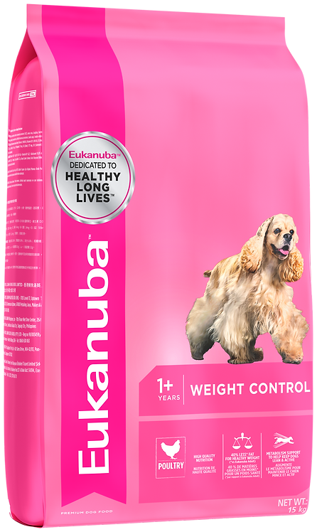 Eukanuba Adult Small & Medium Weight Control