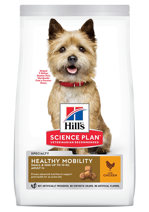Hill's Science Plan Canine Dry Food Healthy Mobility Small & Mini Chicken