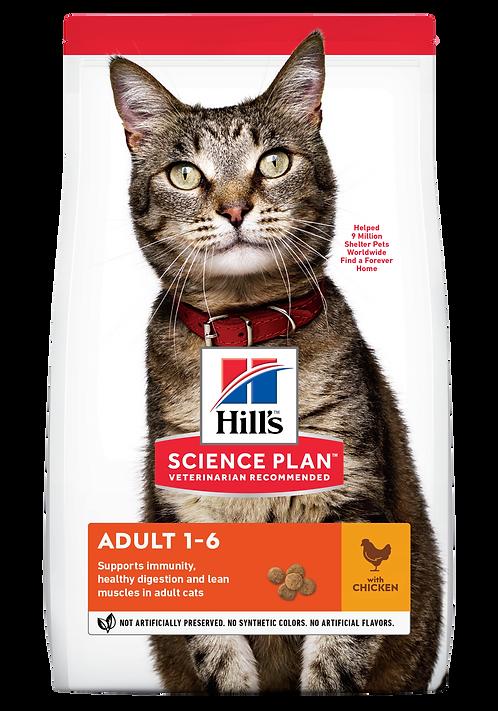 Hill's Science Plan Feline Dry Food Adult Chicken