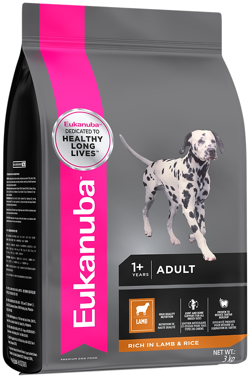 Eukanuba Adult Lamb & Rice Small & Medium