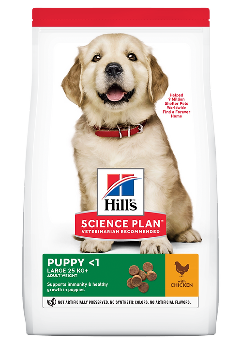 Hill's Science Plan Canine Dry Food Puppy Large Breed Chicken