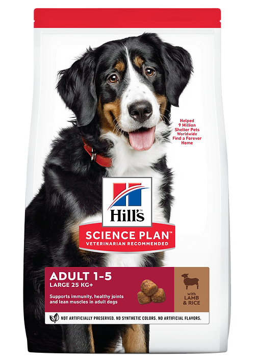 Hill's Science Plan Canine Dry Food Adult Large Breed Lamb & Rice