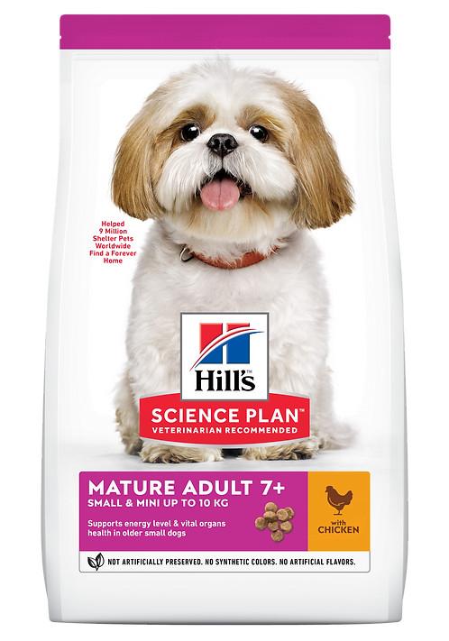 Hill's Science Plan Canine Dry Food Mature Adult Small & Mini 7+ Chicken