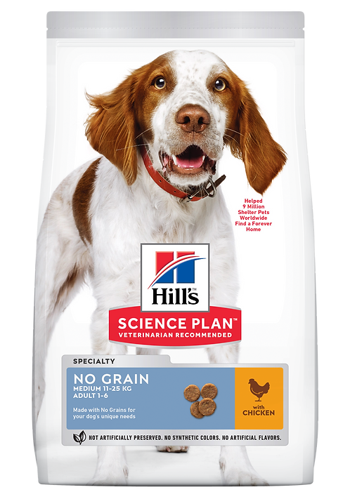 Hill's Science Plan Canine Dry Food No Grain Chicken