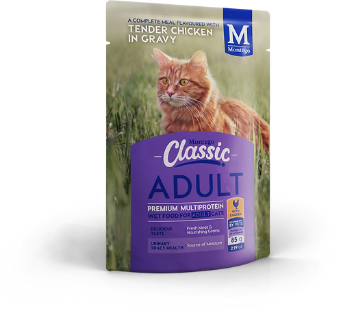 Montego Classic Cat Wet Food Adult Chicken  Pouch