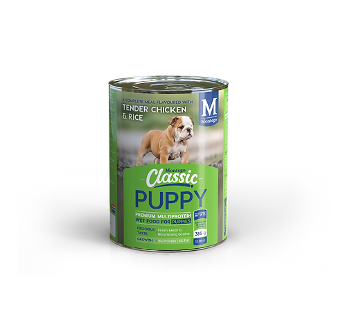 Montego Classic Puppy Tender Chicken and Rice Wet Food