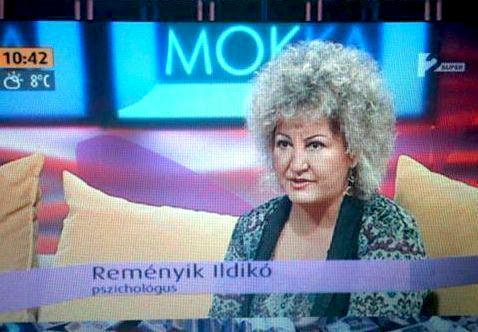 Reményik Ildikó Mokka médiaszereplés