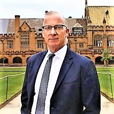 Dr. Spence, Vice Chancellor, Sydney University
