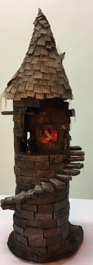 Terrain, frozen tower set piece