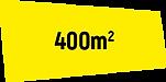 ceci précise que l'espace fait 400 mètre carré, donc que l'exposition de photographie et video est organisé dans un ancien poulailler dont la superficie est de 400m2
