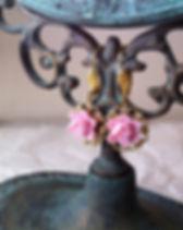Boucles d'oreilles en forme de Rose