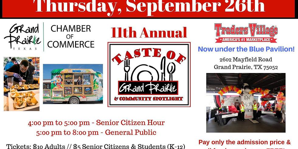 11th Annual Taste of Grand Prairie