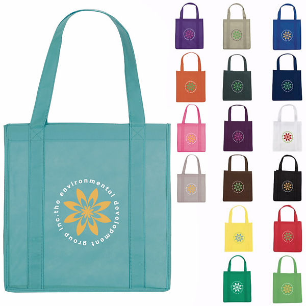 Branded Reusable Grocery Tote Bag