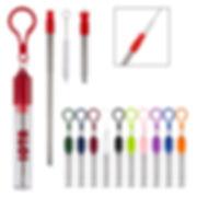 Branded Reusable Straw Kit