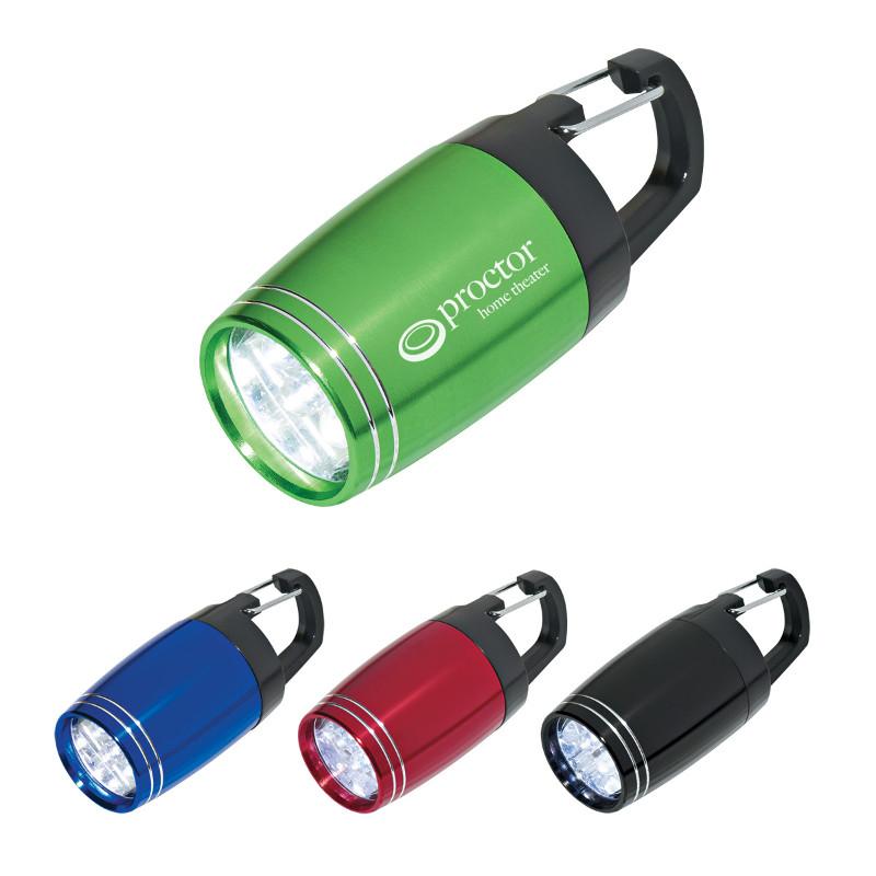 Branded Clip-On Flashlight