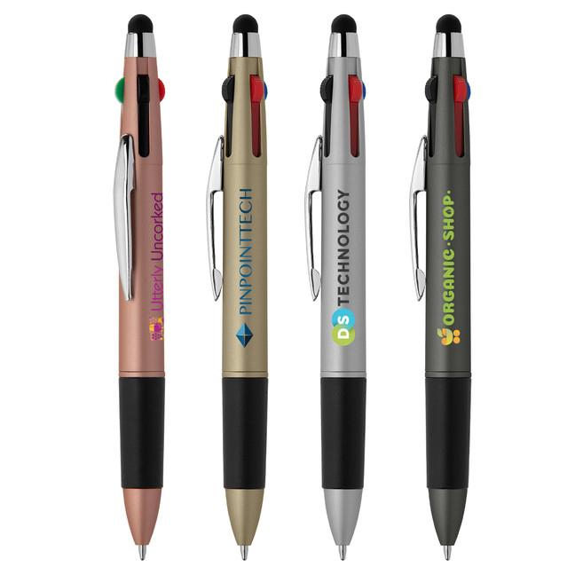 Branded 4-Color Stylus Pen