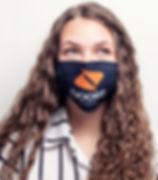 Branded Face Mask with Custom Logo