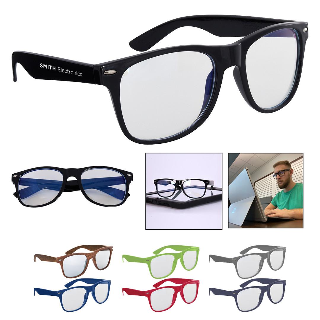 Branded Blue Light Blocking Glasses