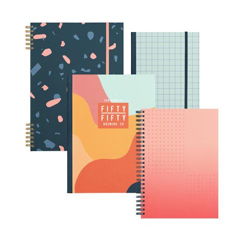 Fully Custom Branded Notebook