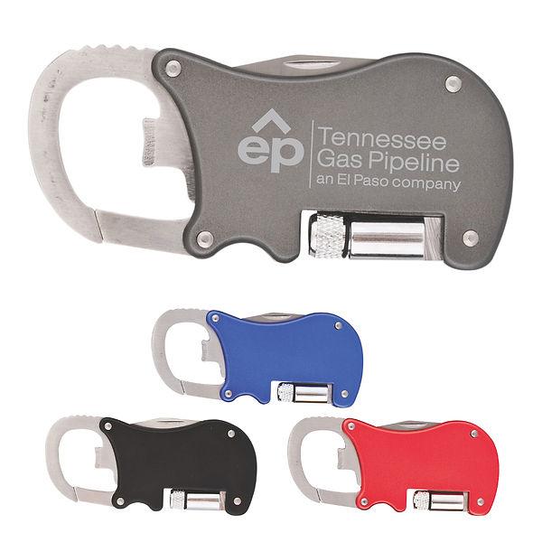 Branded Multi-Function Carabiner Tool