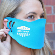 Custom Poly/Foam Face Masks