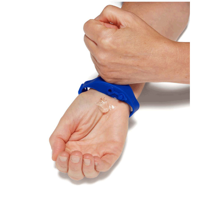 Branded Sanitizer Bracelet